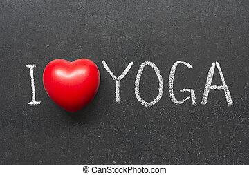 愛, 瑜伽