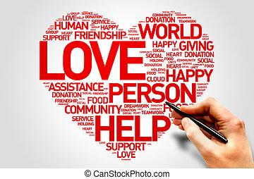 愛, 生産性, 慈善
