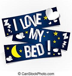 愛, 私, ベッド