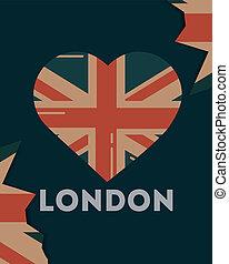 愛, 訪問, ロンドン