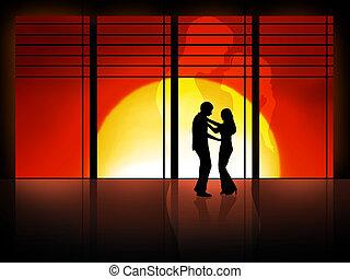 愛, 跳舞