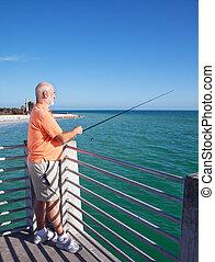 愛, fish, おじいさん