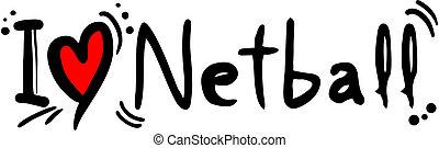 愛, netball