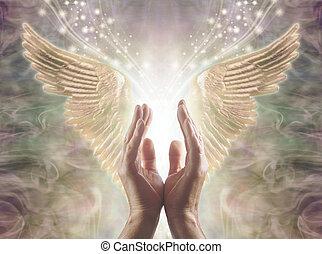 感じること, 天使, エネルギー