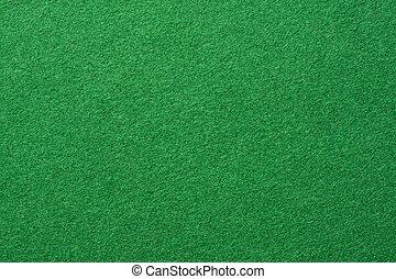 感到, 綠色的背景