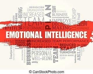 感情的, 単語, 雲, 知性