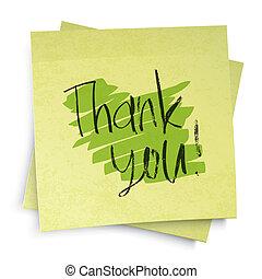 感謝しなさい, you!, ベクトル, イラスト, eps10