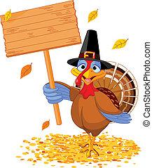 感謝祭トルコ, 保有物, 印