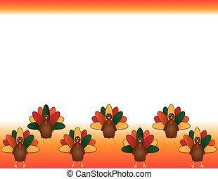 感謝祭トルコ, 背景