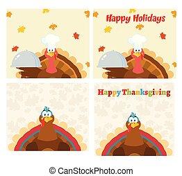 感謝祭トルコ, 鳥, コレクション, -, 9