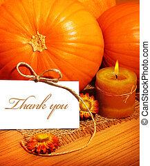 感謝祭, あなた, 感謝しなさい, カード, 挨拶