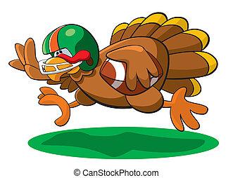 感謝祭, フットボール, トルコ