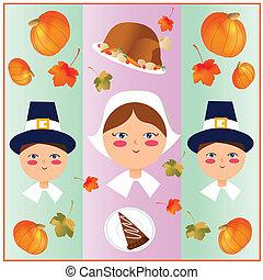 感謝祭, 日, そして, 開拓者