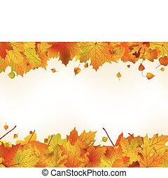 感謝祭, 日, カード, template., eps, 8