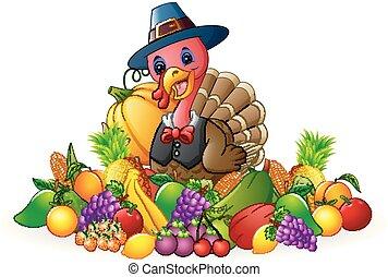 感謝祭, 日, トルコ, ∥で∥, 果物と野菜
