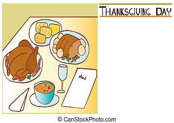 感謝祭, 日, 招待, 2