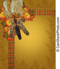 感謝祭, 秋, ボーダー