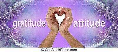 感謝, 心, 紫色, 態度, 手, 旗