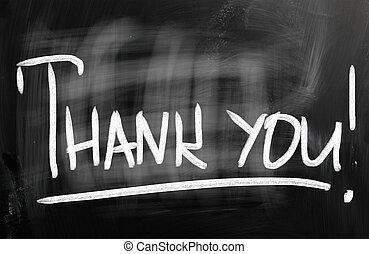 感謝, you!