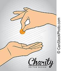 慈善, デザイン