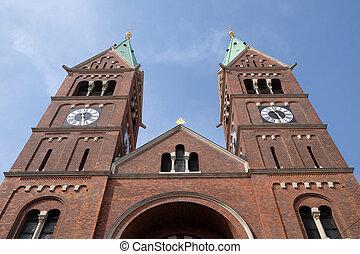 慈悲, franciscan, 教会, st., スロベニア, 母, mary, maribor