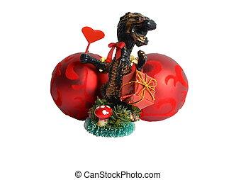 態度, クリスマスの ギフト, ドラゴン