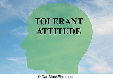 態度, 概念, 精神, 耐久性がある