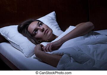 憂うつ, ベッド