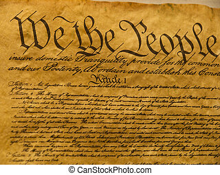 憲法, アメリカ, 羊皮紙