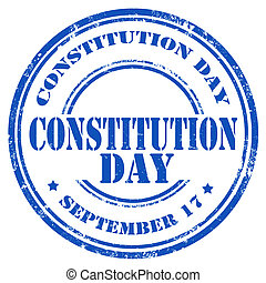 憲法, day-stamp