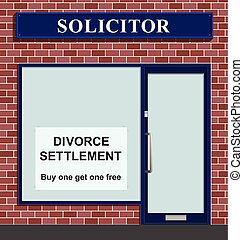 懇願者, 離婚, 和解, 提供