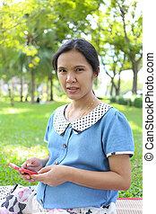 懷孕婦女, 使用, smartphones, 搜尋, 為, 資訊, 大約, 健康, care.