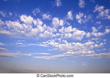 懷特雲, 在, 藍色的天空
