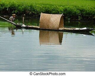 懸命に, 漁師, 仕事