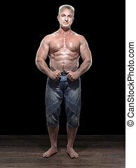 成人, muscleman