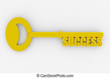 成功 への キー