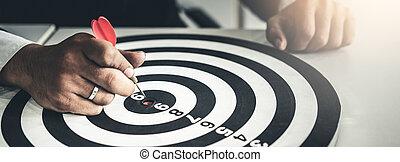 成功, ビジネス, マーケティング, 挑戦, 概念