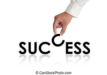 成功, 活版印刷, 概念