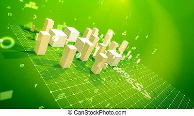成功, 綠色, 背景, 事務, 索引