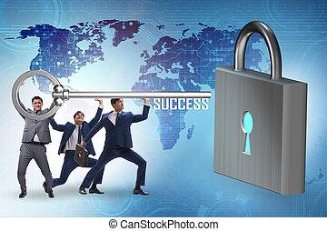 成功, 配合, 透過, 商人, 達到