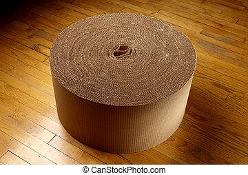 成為波形弄皺, 包裝, 材料, 捲