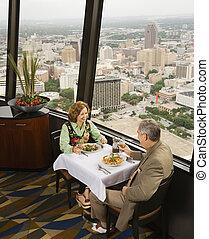 成熟的夫婦, dining.