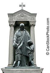 成熟, 墓碑, 耶穌· 基督 雕塑, 由于, 孩子
