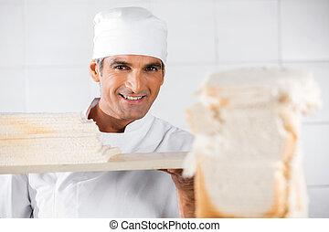 成長した, マレ, パン屋, ∥で∥, bread, に薄く切る
