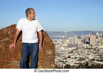 成長した 人, 中に, サンフランシスコ
