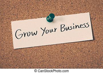 成長しなさい, ビジネス, あなたの
