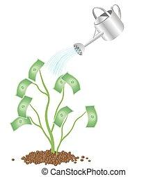 成長する, お金