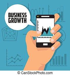 成長, デザイン, ビジネス