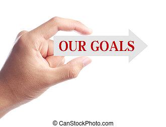 我們, 目標, 概念
