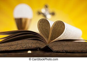 我, 愛, 宗教, 為, 基督教, 背景